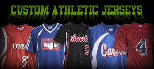 custom printed athletic jerseys